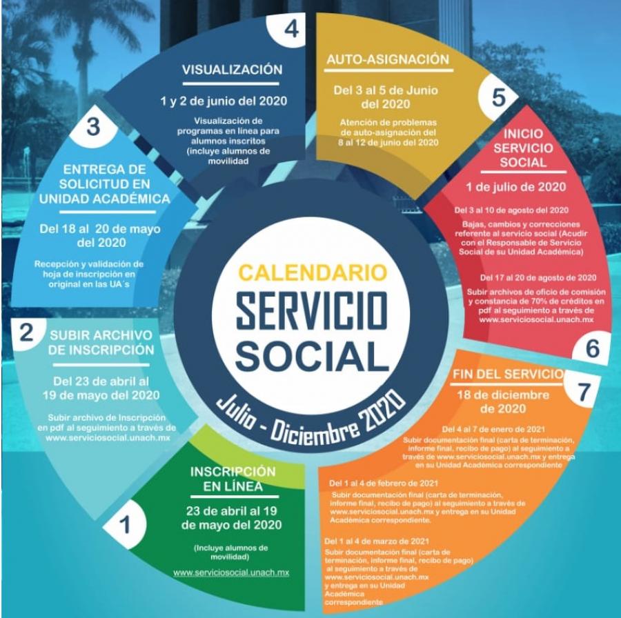 Convocatoria Servicio Social Julio-Diciembre 2020