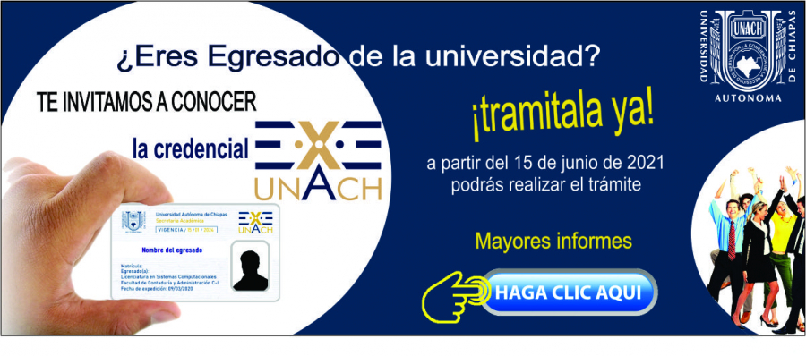 Convocatoria Credencial EXE-UNACH