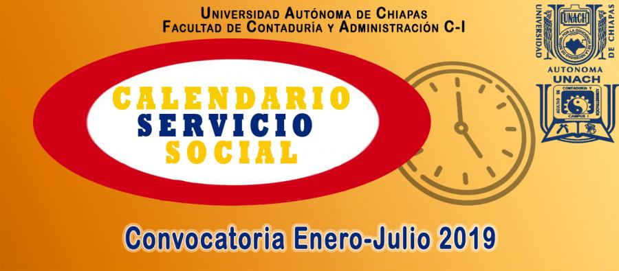 Convocatoria Servicio Social 2019